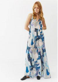 The Dressing Room TWIST AND TANGO JENNIFER DRESS – BLUE MARBLE