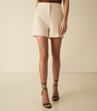 REISS VENICE SHORT TAILORED SHORTS BLUSH ~ spring clothing