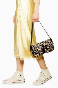Topshop Zambia Leopard Flap Shoulder Bag | animal print bags