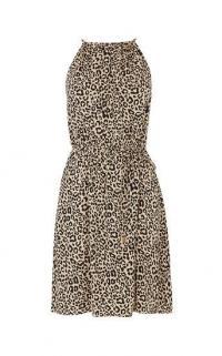 OASIS ANIMAL PRINT SUNDRESS / leopard printed summer dresses