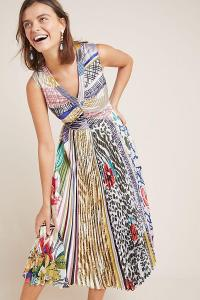 Geisha Designs Jacinta Dress ASSORTED. MIXED PRINT FIT AND FLARE