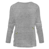 Bee Embroidered Dropped Shoulder T-Shirt Grey Women by INGMARSON | Wolf & Badger