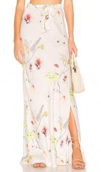 Cali Dreaming Boheme Skirt in Garden | summer floral maxi skirts