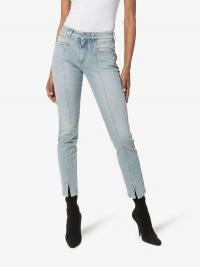 Givenchy Seam Detail Skinny Jeans ~ split hem skinnies