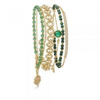 ASTLEY CLARKE Green Light Bracelet Stack / stacked bracelets