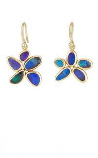 IRENE NEUWIRTH Boulder Opal Drop Earrings / floral drops