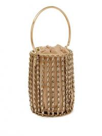 ROSANTICA BY MICHELA PANERO Kill Bill crystal cage bag | luxe bags