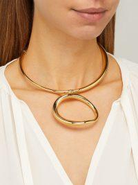 CHARLOTTE CHESNAIS Koi gold-vermeil necklace ~ contemporary accessory