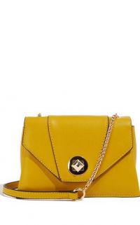OASIS LUNA CROSS BODY BAG OCHRE / yellow-toned crossbody / summer accessory