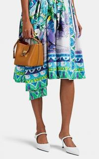 MARK CROSS Murphy Mini Tan Leather Bucket Bag ~ small luxe handbag