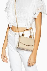Topshop MASON Tortoiseshell Ball Mini Bag | small crossbody with chain strap