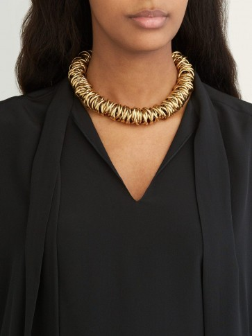 BALENCIAGA Multi-ring choker / statement piece