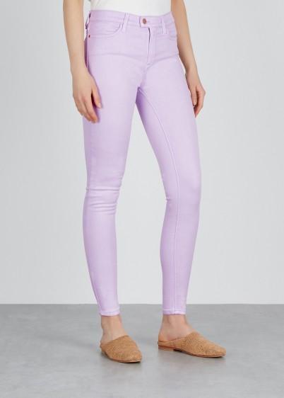 REPLAY Lilac Touch skinny jeans | stretch denim skinnies