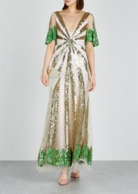 TEMPERLEY Sycamore sequinned tulle gown ~ luxe event wear