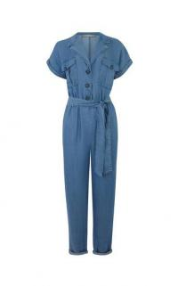 OASIS UTILITY BOILERSUIT DENIM