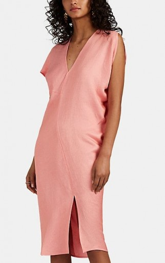 ZERO + MARIA CORNEJO Laila Asymmetric Midi-Dress ~ off kilter design clothing
