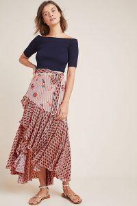 Bhanuni by Jyoti Casablanca Skirt ~ ruffled asymmetric hemline skirts