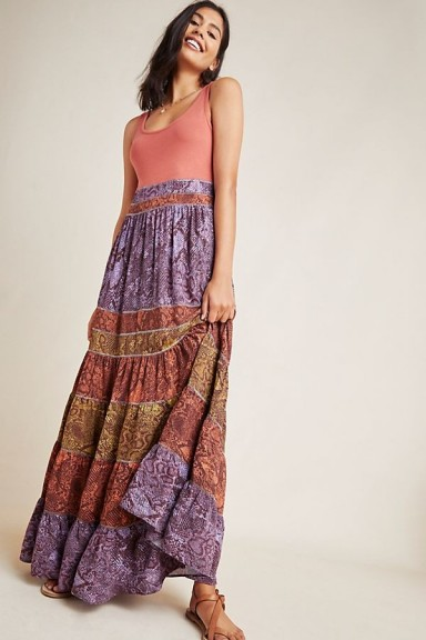 Anthropologie Colima Maxi Dress | long boho dresses