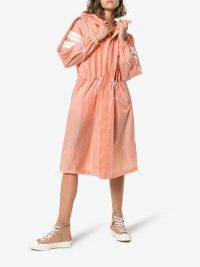 Converse X Feng Chen Wang Hooded Windbreaker in Pink – sporty waterproof coat