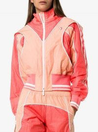 Converse X Feng Chen Wang Track Jacket in Pink – designer sports jackets