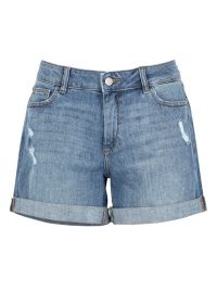 DL1961 Karlie blue boyfriend shorts