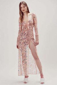 FOR LOVE and LEMONS ACE MAXI DRESS