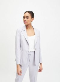 MISS SELFRIDGE Lilac Premium Suit Blazer – summer suits – jackets