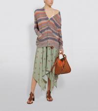 Loewe x Paula's Ibiza Stripe Cardigan | slouchy summer cardi
