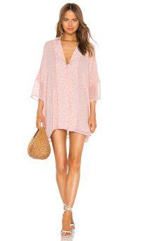 LPA Dress Shirt in Pink Leopard