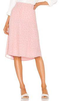 LPA Lucy Skirt – pink leopard print skirts
