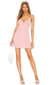 LPA Marzia Dress – pink leopard cami dresses