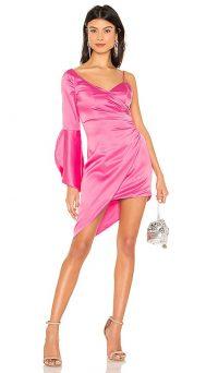MAJORELLE Georgina Mini Dress – bubblegum pink going out dresses