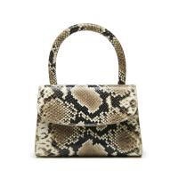 BY FAR Shoes MINI SNAKE PRINT LEATHER HANDBAG / dinky handbag
