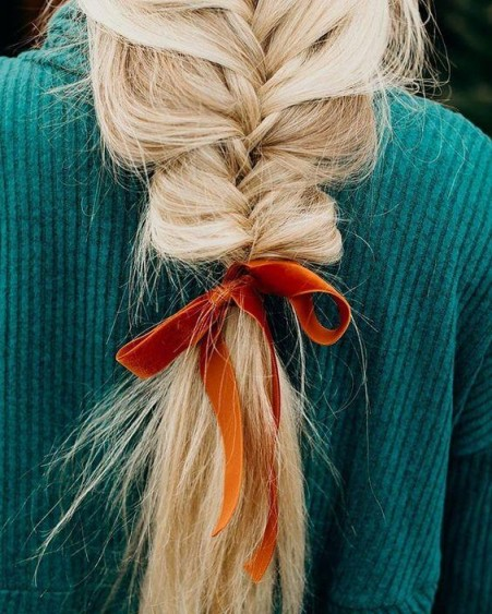 Beautiful loose braid | inspiration for long hair