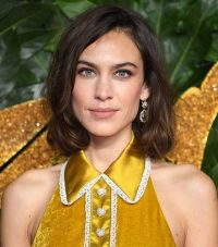 Alexa Chung's shoulder length hair