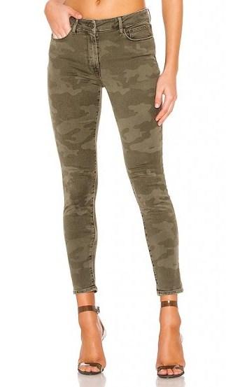 Sanctuary Social Standard Skinny Jean Prosperity Camo / camouflage denim skinnies - flipped