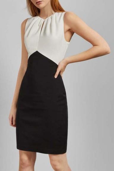 Ted Baker Zamelid Fitted Sleeveless Dress