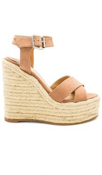 Tony Bianco Boston Wedge Caramel Phoenix | light-brown suede wedges