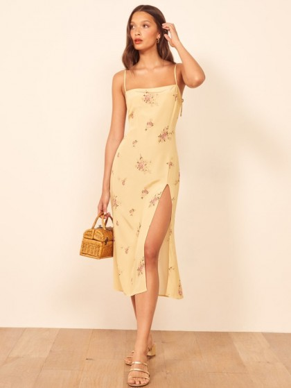 REFORMATION Averi Dress Dallas / floral slip