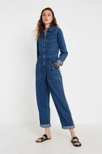 BDG Denim Workwear Boilersuit in Indigo   blue boilersuits