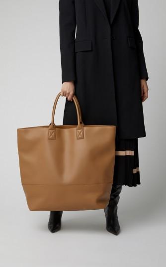 Bottega Veneta Cabat Oversized Leather Tote in Brown ~ big bags ~ large accessories