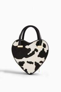 TOPSHOP Cow Heart Pony Grab Bag Monochrome