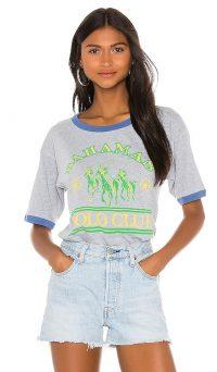DAYDREAMER X REVOLVE Bahamas Tee in Maliblue / slogan t-shirts