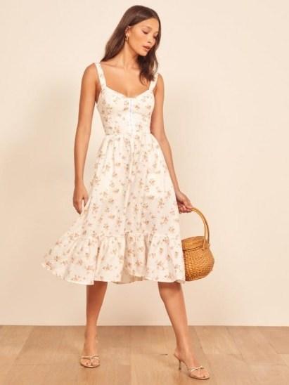 REFORMATION Dolci Dress Mildred / vintage style summer dresses - flipped