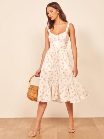 REFORMATION Dolci Dress Mildred / vintage style summer dresses
