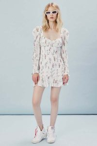 FOR LOVE & LEMONS DIXON MINI DRESS
