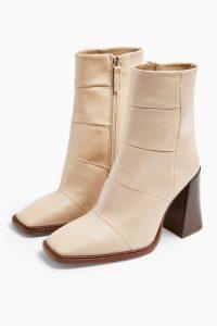 TOPSHOP HARTLEY NATURAL Boots