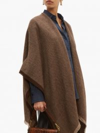 WEEKEND MAX MARA Hello cape in brown