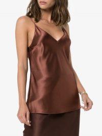 Joseph Brown Clea V-Neck Silk Cami ~ luxe camisole