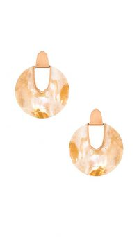 Kendra Scott Diane Mother Of Pearl Earring Kendra Scott